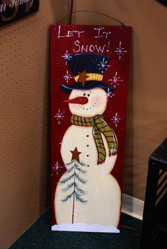 let it snow snoman