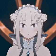 anime   re zero   emilia re zero   icons   anime icons   re zero icons   re zero season 2 part 2 icons   emilia re zero icons Re Zero, Matching Icons, Season 2, Yoshi, Haikyuu, Avatar, Fan Art, Japan, Manga