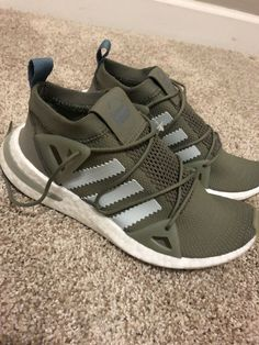 6b9c61f05 Brand New Womens Adidas Originals Sneakers Olive Green Size 7.5  fashion   clothing  shoes