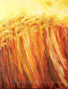Natur Wand Kunst Malerei Acryl Natur-Malerei von MiriLaveeArt