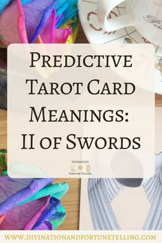 In a Tarot card reading, The Two of Swords in a spread can be a symbol of working together, opponents and conformity,. This post includes a vintage and modern fortune telling meanings of The 2 of Swords, ideal for the advanced reader or those just learning the cards. These interpretations can be used with any of the decks (Rider Waite, Marseilles etc). Cards used in this post are The Wooden Tarot Deck.