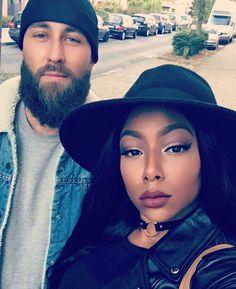 Flawlessly gorgeous interracial couple #love #wmbw #bwwm #swirl