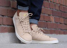 Adidas Stan Smith Linen Khaki (daim beige) homme & femme