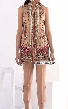Peach Raw Silk Suit   Buy Pakistani Fashion Dresses and Clothing Online in USA, UK Pakistani Dresses Online Shopping, Pakistani Formal Dresses, Online Dress Shopping, Pakistani Designer Clothes, Pakistani Designers, Indian Designer Outfits, Designer Party Dresses, Party Suits, Silk Suit