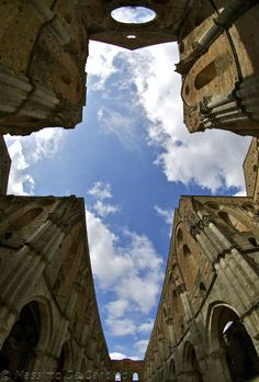 San Galgano Abbey, near the Montesiepi Chapel, chest of the sword in the stone