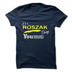 Wow It's an ROSZAK thing, Custom ROSZAK T-Shirts Check more at https://designyourownsweatshirt.com/its-an-roszak-thing-custom-roszak-t-shirts.html