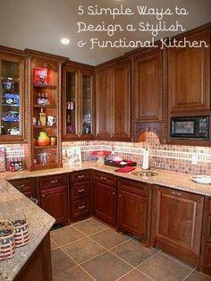 5 Ways to Design a Stylish & Functional Kitchen | Custom Kitchens