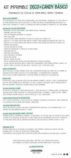 Kit imprimible / El principito / Cumpleaños infantiles /Candy bar y decoracion / Diseños para niñas y niños / Hazlo tu misma / Envios a todo el mundo / Printable kit / Kids birthday party / Decor / Themed party / Designs for girls and boys / DIY / We ship worldwide / lauraydonna@gmail.com / Click on image to buy / Click en la imagen para comprar