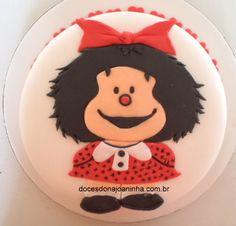 Bolo Mafalda  Bolos Decorados Doces Dona Joaninha: Bolos Infantis Decorados