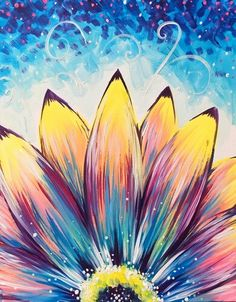 Find the perfect thing to do tonight by joining us for a Paint Nite in Bangor, M. - Find the perfect thing to do tonight by joining us for a Paint Nite in Bangor, ME, featuring fresh - Cute Canvas Paintings, Easy Canvas Painting, Simple Acrylic Paintings, Diy Canvas Art, Diy Painting, Painting & Drawing, Simple Flower Painting, Canvas Painting Tutorials, Spring Painting