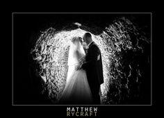 Black and White, Tunnel, Flash, Speedlight, Wedding, Photography, Creative, Bride, Groom, Matthew Rycraft