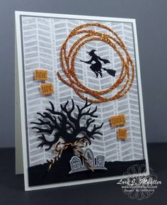 StampinDreams.com Stampin Up; Halloween Scenes Bundle by maggie