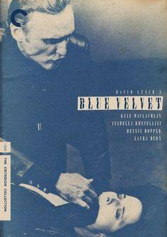 Velluto blu (Blue Velvet) film del 1986 scritto e diretto da David #Lynch.    #cinema #locandinecinema