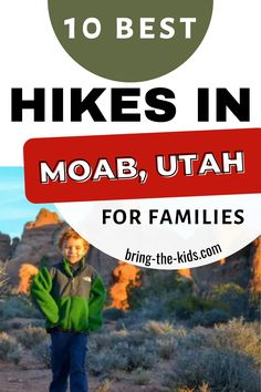 Over 10 mind blowing hikes in Moab that anyone can do. Best Moab hikes for beauty, scenery, and enjoying the very best of the desert Kids Camping Gear, Utah Camping, Arches National Park Hikes, Zion Utah, Utah Vacation, Utah Adventures, Hiking With Kids, Utah Hikes, Get Outdoors