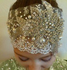 GATSBY Bridal Headpiece …$168