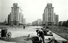 Berlin DDR 1960 Karl-Marx-Allee