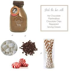 Hot Chocolate Bar www.tablescapesbydesign.com https://www.facebook.com/pages/Tablescapes-By-Design/129811416695