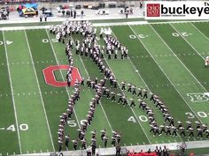 Ohio State band moonwalks giant Michael Jackson formation across football field!  I can't express how much this makes me proud and how  this is the legacy that keeps on living on! I want to thank each and everyone of the people that participated in this, it's amazing! THANK YOU!