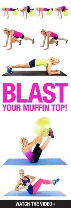 9 moves to shrink your muffin top fast! | Posted By: NewHowtoLoseBellyFat.com |