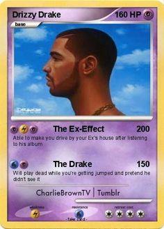 The Drake Pokemon card