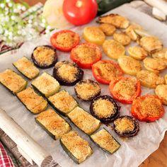 Antipasto, Finger Foods, Zucchini, Good Food, Food And Drink, Menu, Vegan, Dinner, Vegetables