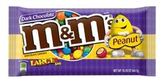 M&M's Peanut Dark Chocolate Candy Bag (Pack of Mint Chocolate Candy, Chocolate Filling, Chocolate Shop, Chocolate Peanuts, Best Chocolate, Chocolate Covered, Peanut Candy, Dessert Illustration, Candy Bouquet