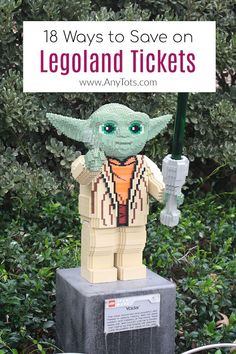Legoland California Discount Tickets: 18 Legoland Deals - Any Tots San Diego Attractions, California Attractions, Legoland California, Disneyland California, California Travel, Best Family Vacations, Family Travel, Disneyland Park Hopper, Us Travel Destinations