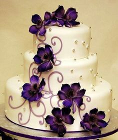 camo purple grooms cake - Google Search