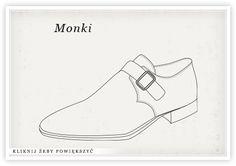 RODZAJE BUTÓW Monk Strap