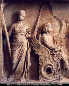 """The Eleusinian Mysteries (Greek: Ἐλευσίνια Μυστήρια) were initiation ceremonies held every year for the cult of Demeter and Persephone based at Eleusis in ancient Greece.They are the """"most famous of the secret religious rites of ancient Greece"""". It is thought that their basis was an old agrarian cult which probably goes back to the Mycenean period (c. 1600 – 1100 BC)and it is believed that the cult of Demeter was established in 1500 BC.The mysteries represented the myth of the abduction of…"""