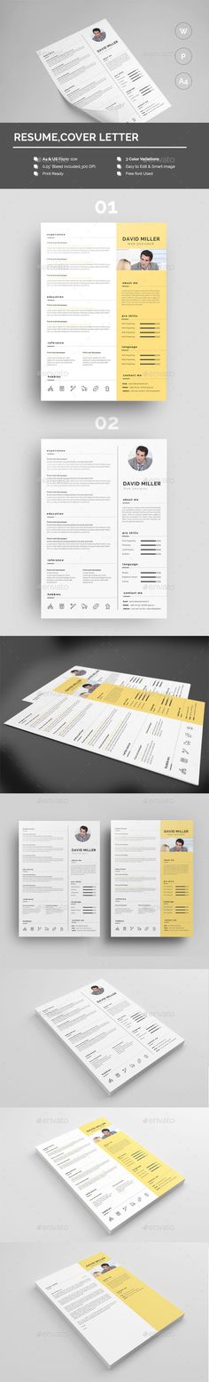 Resume - Resumes #Stationery Download here https\/\/graphicriver - download resume