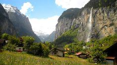Lauterbrunnen: conoce el hermoso valle de las 72 cascadas
