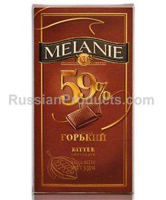 """Dark Chocolate """"Melanie Bitter 59%"""".  #chocolate #gifts"""