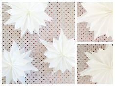 Butterbrottüten -Sterne