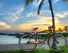 Vintage Beach Cruiser- I want one of these! Beach Cruiser Bikes, Cruiser Bicycle, Vintage Bicycles, Beach Bum, Cool Bikes, Bikes For Sale, Bicycling, Pictures, Biking