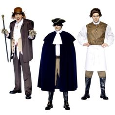 Dr Jekyll & Mr Hyde or Sweeney Todd or Dick Turpin Costumes