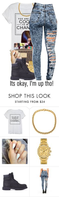 """""""Untitled #63"""" by queenamira ❤ liked on Polyvore featuring Chanel, Lacoste, Timberland and AG Adriano Goldschmied"""