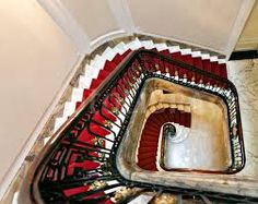 Image result for grand staircase with red carpet