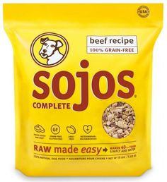 All  Natural SOJOS Complete Beef Dog Food