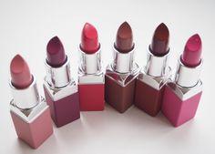Clinique Pop Matte Lip Colour + Primer Punch Pop, Passion Pop, Cherry Pop