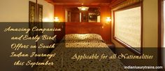Two Attractive Offers on Southern India Journeys on-board Maharajas' Express Trains, How To Memorize Things, Southern, India, Vacation, Luxury, Board, Home Decor, Homemade Home Decor