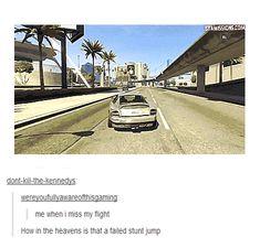 Failed Stunt Jump