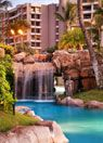 Westin Hotel in Maui - great place to stay (expensive though). The pool was phenomenal - one of a kind.