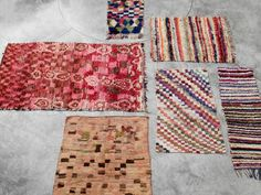 About Interior Decorating Design Geek Boucherouite Rugs by AphroChic / Bryan Mason