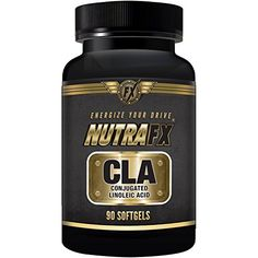 Nutrafx CLA Softgels Lean Muscle Pills and Weight Loss Supplement 1000 Mg 90ct