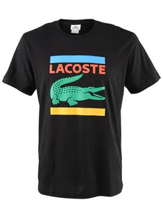 Lacoste Men's Autumn Multi Croc T-Shirt $45 Lacoste Clothing, Nike Vest, Tennis Wear, Fly Gear, Lacoste Men, Mens Tee Shirts, Tee Design, Crocs, Printed Shirts