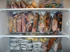 The Virtuous Wife: All My Freezer Meals - good ideas to make for my father this winter