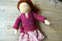 Anleitung für eine gestrickte Puppenjacke by ela-strickt Gabriela Widmer-Hanke