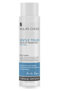 Paula's Choice 'Gentle Touch' Makeup Remover available at #Nordstrom