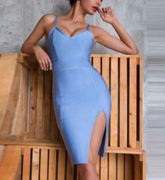 Check Out This Hot Selling Item On Our Store: Multiple Colors P... You'll get it Over Here http://www.keyomi-sook.com/products/multiple-colors-pencil-bandage-party-v-neck-sexy-body-con-cocktail-dre?utm_campaign=social_autopilot&utm_source=pin&utm_medium=pin Buy Now!